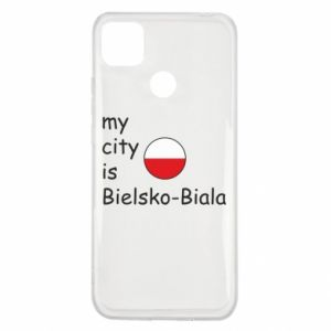 Xiaomi Redmi 9c Case My city is Bielsko-Biala