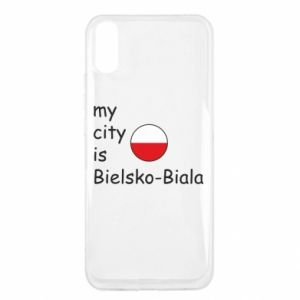 Xiaomi Redmi 9a Case My city is Bielsko-Biala