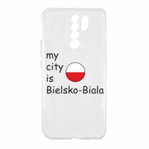 Xiaomi Redmi 9 Case My city is Bielsko-Biala
