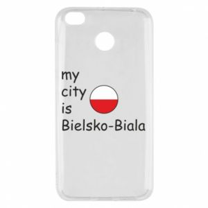 Xiaomi Redmi 4X Case My city is Bielsko-Biala