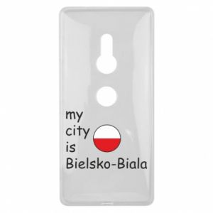 Sony Xperia XZ2 Case My city is Bielsko-Biala