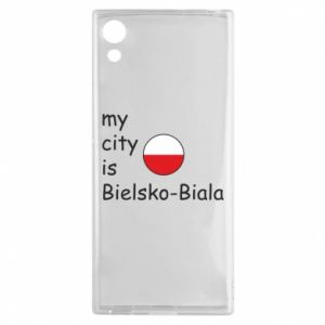 Sony Xperia XA1 Case My city is Bielsko-Biala