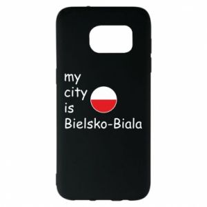 Samsung S7 EDGE Case My city is Bielsko-Biala