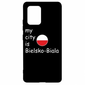 Samsung S10 Lite Case My city is Bielsko-Biala