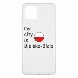 Samsung Note 10 Lite Case My city is Bielsko-Biala