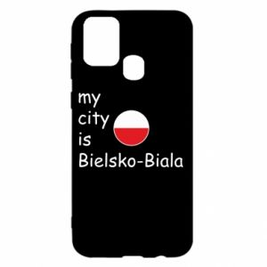 Samsung M31 Case My city is Bielsko-Biala
