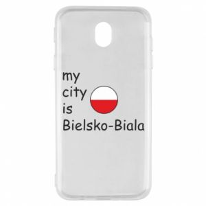 Samsung J7 2017 Case My city is Bielsko-Biala