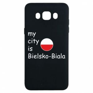 Samsung J7 2016 Case My city is Bielsko-Biala