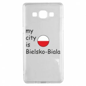Samsung A5 2015 Case My city is Bielsko-Biala