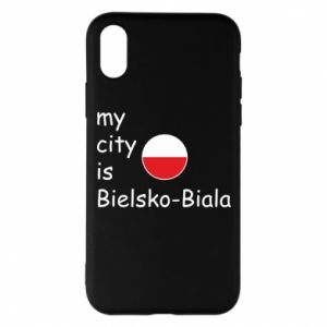 iPhone X/Xs Case My city is Bielsko-Biala