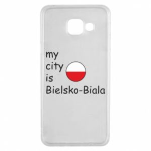 Samsung A3 2016 Case My city is Bielsko-Biala