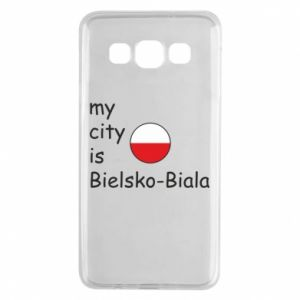 Samsung A3 2015 Case My city is Bielsko-Biala