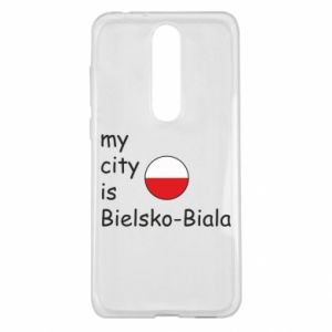 Nokia 5.1 Plus Case My city is Bielsko-Biala