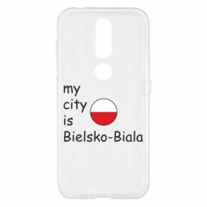 Nokia 4.2 Case My city is Bielsko-Biala