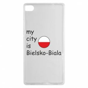 Huawei P8 Case My city is Bielsko-Biala