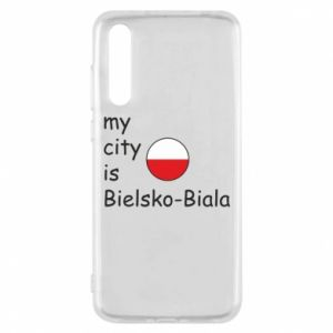 Huawei P20 Pro Case My city is Bielsko-Biala