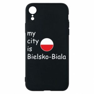iPhone XR Case My city is Bielsko-Biala