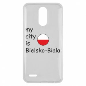 Lg K10 2017 Case My city is Bielsko-Biala