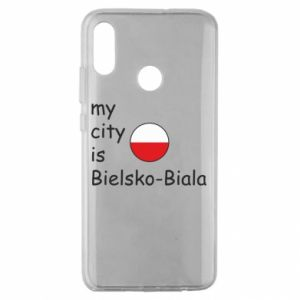 Huawei Honor 10 Lite Case My city is Bielsko-Biala