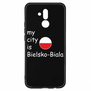 Huawei Mate 20Lite Case My city is Bielsko-Biala