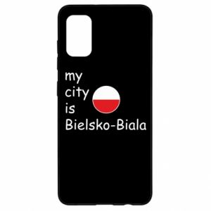 Samsung A41 Case My city is Bielsko-Biala