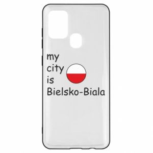 Samsung A21s Case My city is Bielsko-Biala
