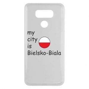 LG G6 Case My city is Bielsko-Biala