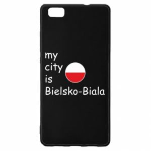 Huawei P8 Lite Case My city is Bielsko-Biala