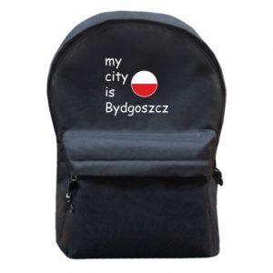 Plecak z przednią kieszenią My city is Bydgoszcz