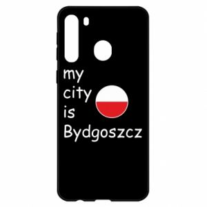 Samsung A21 Case My city is Bydgoszcz