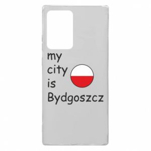Samsung Note 20 Ultra Case My city is Bydgoszcz