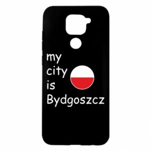 Xiaomi Redmi Note 9 / Redmi 10X case % print% My city is Bydgoszcz