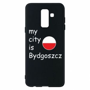 Etui na Samsung A6+ 2018 My city is Bydgoszcz - PrintSalon
