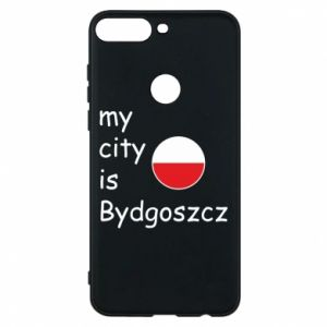 Huawei Y7 Prime 2018 Case My city is Bydgoszcz