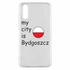 Huawei P20 Case My city is Bydgoszcz