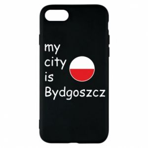 Etui na iPhone 7 My city is Bydgoszcz - PrintSalon