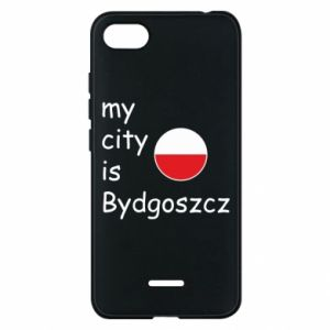 Etui na Xiaomi Redmi 6A My city is Bydgoszcz - PrintSalon
