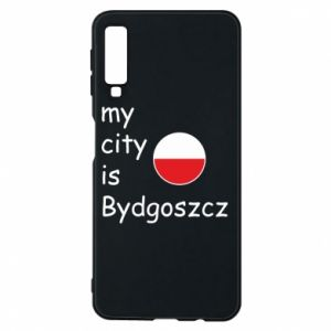 Samsung A7 2018 Case My city is Bydgoszcz