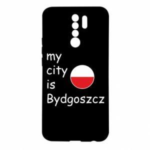 Xiaomi Redmi 9 Case My city is Bydgoszcz