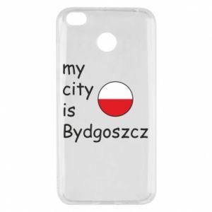 Xiaomi Redmi 4X Case My city is Bydgoszcz