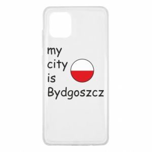 Samsung Note 10 Lite Case My city is Bydgoszcz