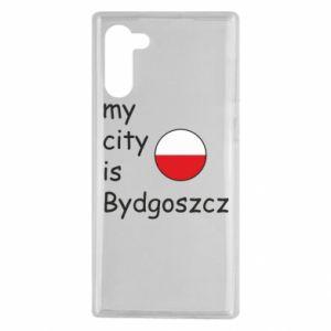 Samsung Note 10 Case My city is Bydgoszcz