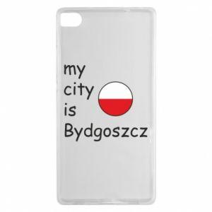 Huawei P8 Case My city is Bydgoszcz