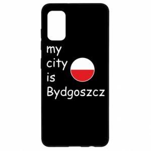 Samsung A41 Case My city is Bydgoszcz
