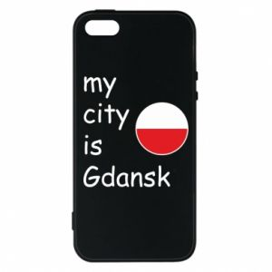 Phone case for iPhone 5/5S/SE My city is Gdansk