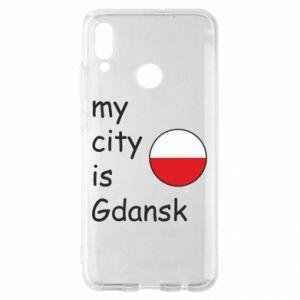 Huawei P Smart 2019 Case My city is Gdansk