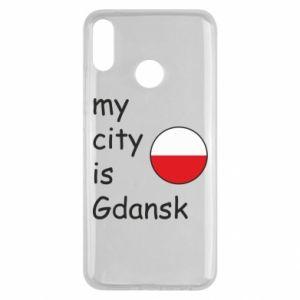 Huawei Y9 2019 Case My city is Gdansk