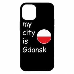 iPhone 12 Mini Case My city is Gdansk