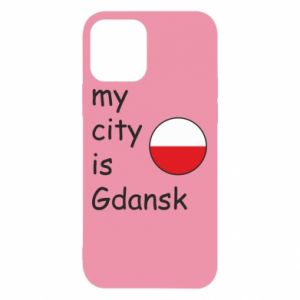 iPhone 12/12 Pro Case My city is Gdansk