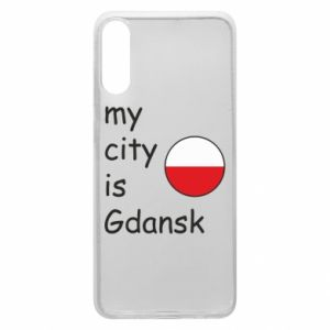 Phone case for Samsung A70 My city is Gdansk